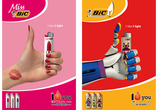 BIC Design on fire