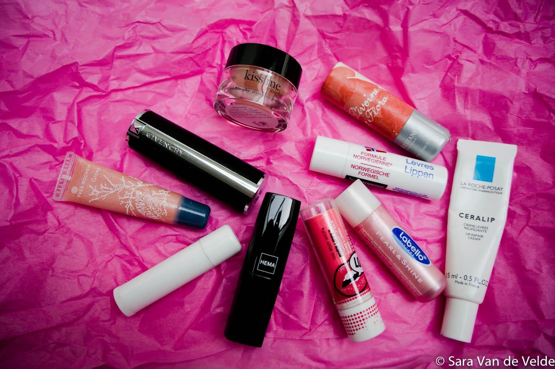 Lippenstift verzameling