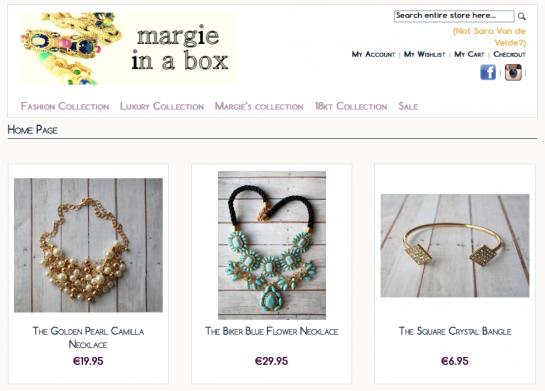 Margieinabox.com